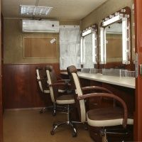 stanowiska przy lustrze - garderoba